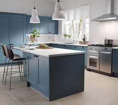 light blue kitchen cabinets uk blue kitchens navy kitchen ideas cabinets wren kitchens