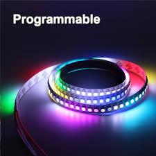 programmable led light strips 30 60 144 pixels programmable individual addressable led strip light