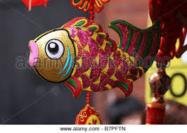 New Years Decoration Sale by Chinese New Year Decoration For Sale In Hong Kong Stock Photo