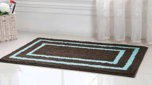 Blue And Brown Bathroom Rugs Blue And Brown Bath Rug Home Design Ideas