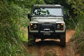 land rover off road land rover offers off road driving lessons in the defender