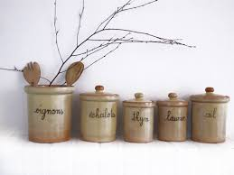 28 kitchen canisters french french enamel canister set set