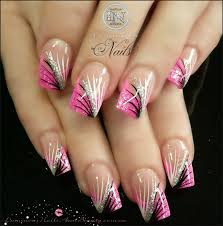 eye candy nails training nail art gallery 25 pink acrylic nail