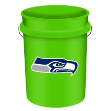 wincraft seahawks 5 gal bucket 2943814 the home depot
