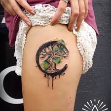 and amazing half moon tree of by cynthia sobraty