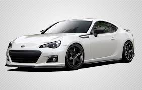 frs with lexus bumper subaru brz carbon creations full body kit 13 14 st c by carbon