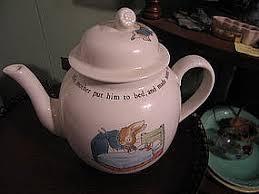 rabbit wedgwood rabbit teapot lid