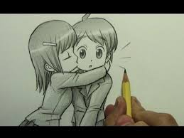 how to draw a chibi kiss on the cheek youtube