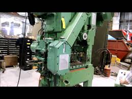 bruderer bsta 25 high speed press youtube