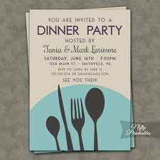 lunch invites dinner party invitations printable dinner party invites