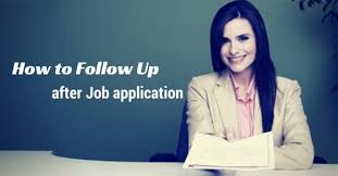 how to follow up after sending job application wisestep