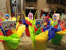 pocoyo party supplies these were my center pieces for the pocoyo party matt s
