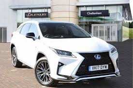 lexus crossover 2017 used cars in stock at lexus cheltenham for sale