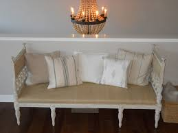 Burlap Chandelier Entryway Bench Ideas Living Room Traditional With Bench Burlap