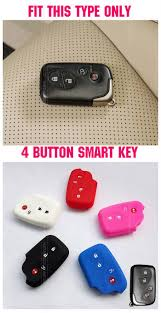 lexus is250 key fob battery type aliexpress com buy silicone key cover fob skin fit for lexus