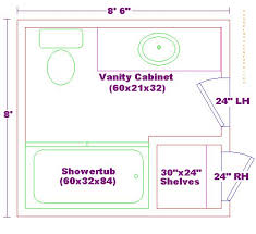 design bathroom floor plan modify this one 8x11 bathroom floor plan with bowl vanity