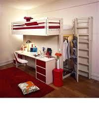 bureau sous lit mezzanine lit mezzanine avec bureau integre espace loggia a dressing