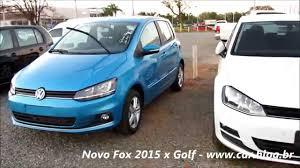 volkswagen fox 2016 volkswagen fox 2015 x golf semelhanças de estilo www car blog