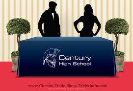 Custom Table Cloths by Custom Tablecloths With Logo 2238