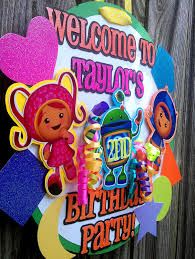 team umizoomi party supplies team umizoomi party invitations team umizoomi door sign by