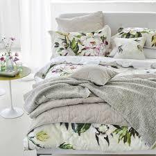 floreale grande white floral bedding at bedeck 1951