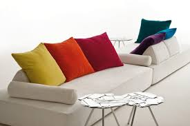 gros coussins canapé gros coussins pour canapé intérieur déco