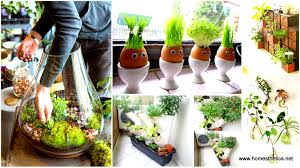 25 smart miniaturized indoor garden projects that you would