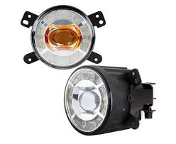 500 watt work light led conversion 3 1 2 led projector fog lights conversion kit w halo daytime