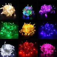 10m 100leds christmas decoration light 110v 220v led christmas lights