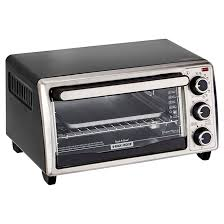 Hamilton Beach 4 Slice Toaster 4 Slice Toaster Oven Black Silver Rona