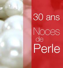 64 ans de mariage 30 ans noces de perle 30 year wedding anniversary