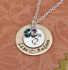 s day necklaces personalized personalized 039 s day necklace sted jewelry custom