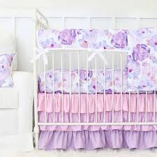 Purple And Teal Crib Bedding Purple Crib Bedding Lavender Baby Bedding Caden Tagged