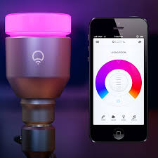 wifi enabled light bulb the lifx light bulb is wifi enabled multi coloured and can be