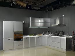 Steel Cabinets Singapore Innovative Stainless Steel Kitchen Cabinets Great Interior Design