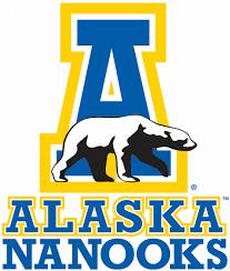 Alaska travel logos images Alaska nanooks primary logo ncaa division i your college jpg