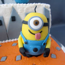 edible minions despicable me fondant minions 4 steps with pictures