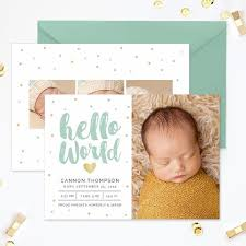 birth announcements birth announcements templates for photographers photo card