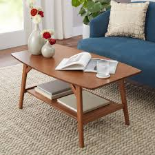better homes and gardens reed mid century modern coffee table