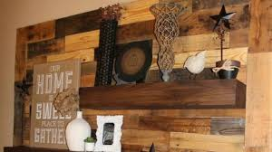 woodwork wood pallet accent wall design ideas woodwork youtube