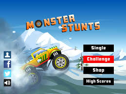 monster truck video game monster stunts monster truck stunt racing game android apps