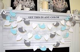 whale themed baby shower whale garland whale baby shower decorations baby