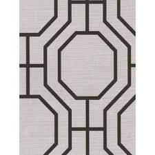 and black octagonal pattern wallpaper