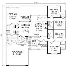 five bedroom houses five bedroom house plans two unique house floor plans two