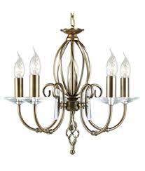Glass Droplet Chandelier Chandeliers Bare Lamps Lighting Styles