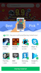 9apps is the play store alternate with better app recommendations