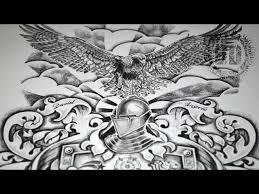 coat of arms tattoo design u2013 speed drawing tattoo blog