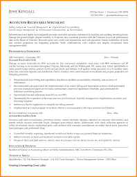 accounts payable resume exle accounts receivable resume resume exles