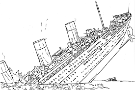 titanic coloring pages to print u2014 allmadecine weddings titanic
