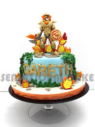 the sensational cakes chima theme 3d figurines 3d cake